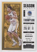 Season Ticket - Klay Thompson