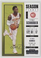 Season Ticket - Dennis Schroder
