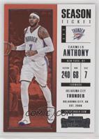 Season Ticket - Carmelo Anthony
