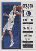 Season Ticket - Dirk Nowitzki