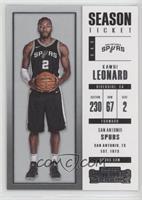 Season Ticket - Kawhi Leonard