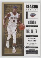 Season Ticket - Rajon Rondo