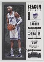 Season Ticket - Vince Carter