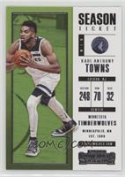 Season Ticket - Karl-Anthony Towns