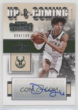 2017-18 Panini Contenders - Up and Coming Contenders Autographs #UC-DJW - D.J. Wilson /199