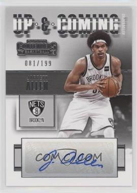 2017-18 Panini Contenders - Up and Coming Contenders Autographs #UC-JAL - Jarrett Allen /199