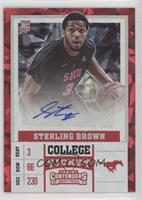 College - Sterling Brown /23