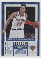Willy Hernangomez #/15