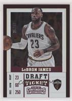Season - LeBron James #/99
