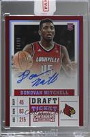 College - Donovan Mitchell [Uncirculated] #/99