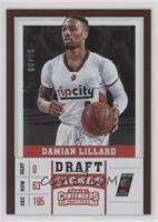 Season - Damian Lillard #/99