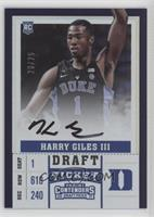 RPS Variation A - Harry Giles #/15