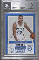 Season - Ben Simmons (White Jersey) [BGS 9 MINT]