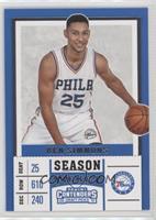 Season - Ben Simmons (White Jersey)