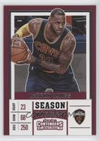 Season Variation - LeBron James