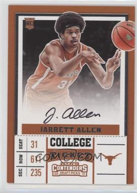 2017-18 Panini Contenders Draft Picks - [Base] #65.1 - RPS - Jarrett Allen