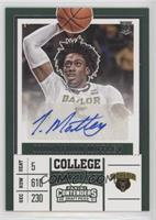 College - Johnathan Motley