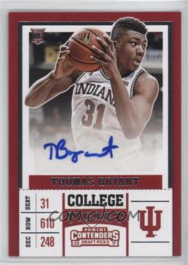 2017-18 Panini Contenders Draft Picks - [Base] #83 - College - Thomas Bryant