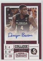 College - Dwayne Bacon
