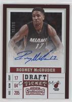 Rodney McGruder #/99