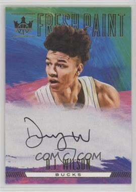 2017-18 Panini Court Kings - Fresh Paint - I #FP1-DJW - D.J. Wilson