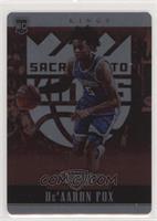 Rookies - De'Aaron Fox [EXtoNM] #/49