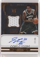Rookie Jersey Autographs - Sterling Brown /49