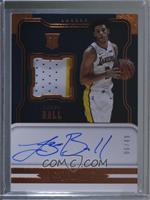 Rookie Jersey Autographs - Lonzo Ball /49
