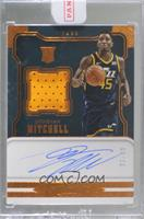 Rookie Jersey Autographs - Donovan Mitchell [Uncirculated] #/49