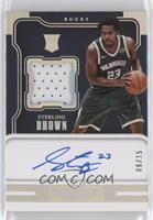 Rookie Jersey Autographs - Sterling Brown /15