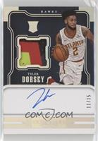 Rookie Jersey Autographs - Tyler Dorsey #/15