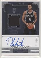 Rookie Jersey Autographs - Derrick White #/199