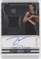 Rookie Jersey Autographs - Zach Collins /199