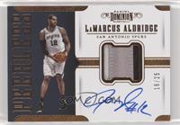 LaMarcus Aldridge /25