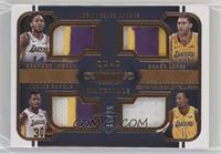 Brandon Ingram, Brook Lopez, Julius Randle, Kentavious Caldwell-Pope #/25