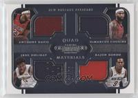 Anthony Davis, DeMarcus Cousins, Jrue Holiday, Rajon Rondo /75