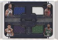 DeMarcus Cousins, Devin Booker, Kyrie Irving, Stephen Curry #/75