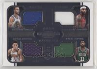 DeMarcus Cousins, Devin Booker, Kyrie Irving, Stephen Curry /75