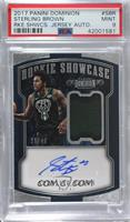 Sterling Brown /49 [PSA 9 MINT]