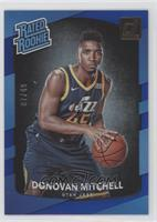 Rated Rookies - Donovan Mitchell #/49