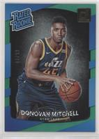 Rated Rookies - Donovan Mitchell #/99