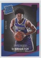 Rated Rookies - De'Aaron Fox /199