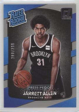 2017-18 Panini Donruss - [Base] - Press Proof Silver #179 - Rated Rookies - Jarrett Allen /299
