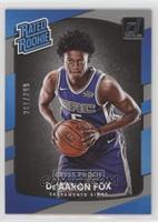 Rated Rookies - De'Aaron Fox #/299