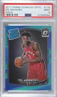 Rated Rookies - OG Anunoby [PSA9MINT] #/25