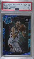 Rated Rookies - Zhou Qi /39 [PSA 10 GEM MT]