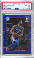 Ben Simmons [PSA 10 GEM MT] #/49