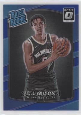2017-18 Panini Donruss Optic - [Base] - Blue #184 - Rated Rookies - D.J. Wilson /49