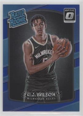 2017-18 Panini Donruss Optic - [Base] - Blue #184 - Rated Rookies - D.J. Wilson /49