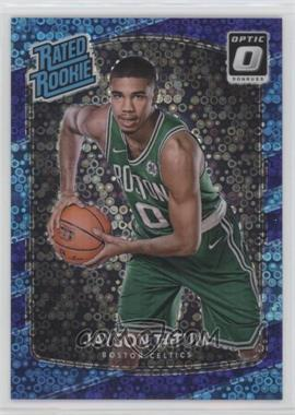 2017-18 Panini Donruss Optic - [Base] - Fast Break Purple #198 - Rated Rookies - Jayson Tatum /155